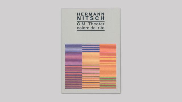 Herman Nitsch O.M Theater colore dal rito